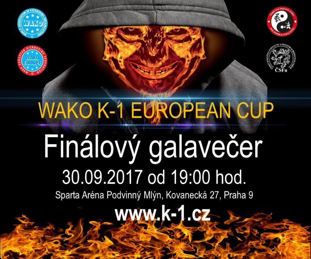 Soutěž o vstupenky na WAKO K-1 EUROPEAN CUP 2017