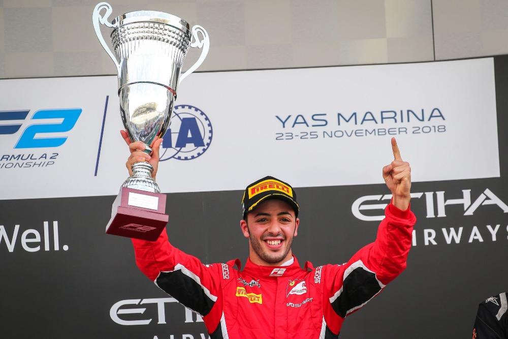 Charouz Racing System zakončil sezónu F2 vítězstvím