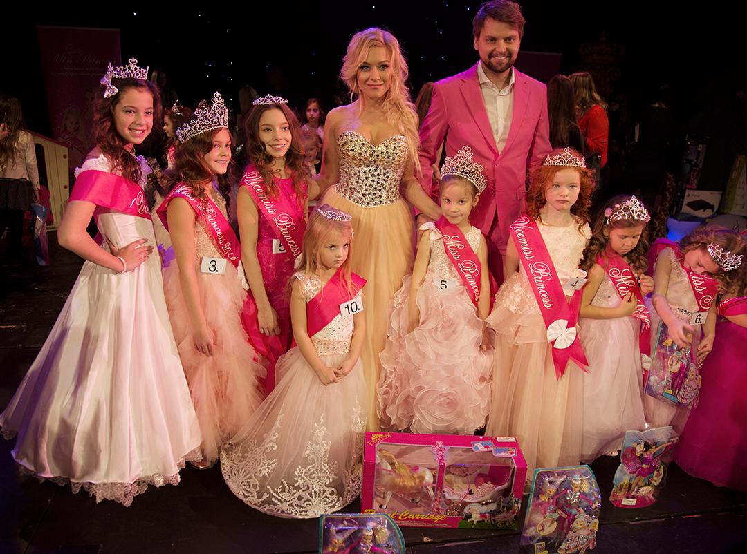 Miss Princess v Divadle Broadway měla velký úspěch Princezny  si užily dokonalé odpoledne