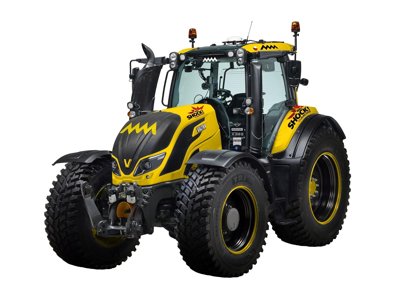 Macík absolvuje Rallye Šumava v traktoru