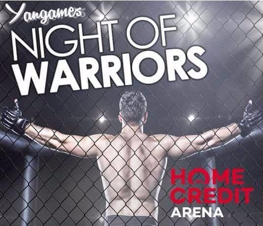 Soutěž o vstupenky na Night of Warriors XII
