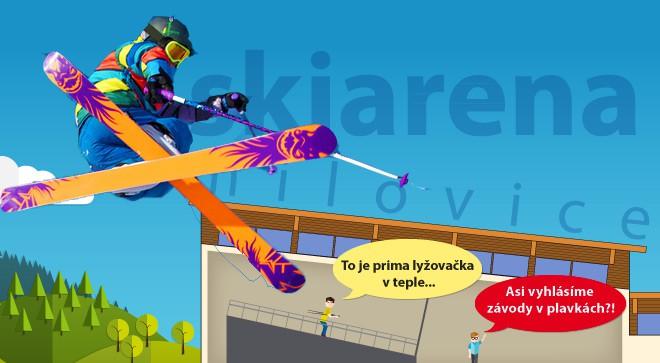 Soutěž o úvodní lekci letního lyžařského nebo snowboardového výcviku